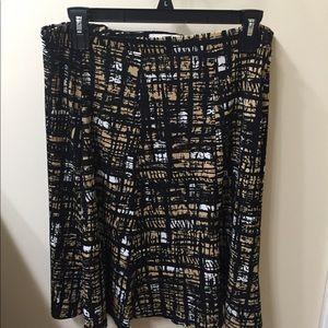 Liz Claiborne flowy skirt